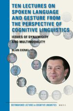 Cover Ten Lectures on Spoken Language and Gesture from the Perspective of Cognitive Linguistics