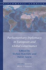 Cover Parliamentary Diplomacy in European and Global Governance