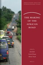 Cover The Making of the African Road
