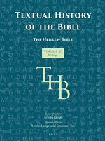 Cover Textual History of the Bible Vol. 1C