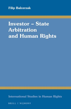 Cover Investor – State Arbitration and Human Rights
