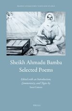 Cover Sheikh Ahmadu Bamba: Selected Poems