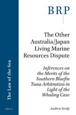 Cover The Other Australia/Japan Living Marine Resources Dispute
