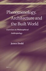 Cover Phenomenology, Architecture and the Built World