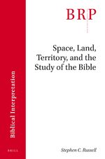 Cover Space, Land, Territory, and the Study of the Bible