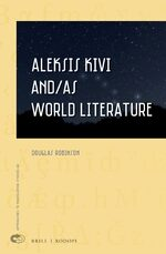 Cover Aleksis Kivi and/as World Literature