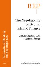 Cover The Negotiability of Debt in Islamic Finance
