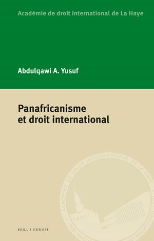 Cover Panafricanisme et droit international