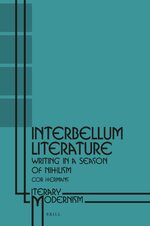 Cover Interbellum Literature