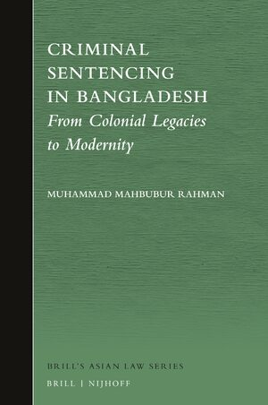 Cover Criminal Sentencing in Bangladesh