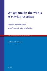 Cover Synagogues in the Works of Flavius Josephus