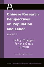Cover Chinese Research Perspectives on Population and Labor, Volume 3