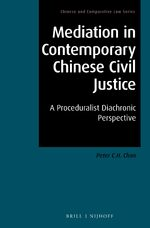 Cover Mediation in Contemporary Chinese Civil Justice