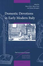 Cover Domestic Devotions in Early Modern Italy