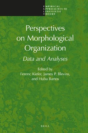 Perspectives on Morphological Organization