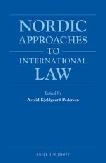 Cover Nordic Approaches to International Law