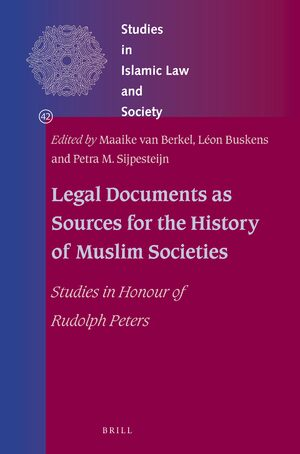 Cover Legal Documents as Sources for the History of Muslim Societies