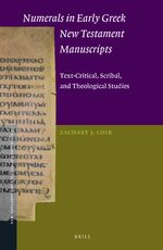 Cover Numerals in Early Greek New Testament Manuscripts