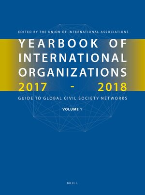 Cover Yearbook of International Organizations 2017-2018, Volumes 1A & 1B (SET)