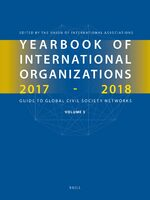 Cover Yearbook of International Organizations 2017-2018, Volume 3