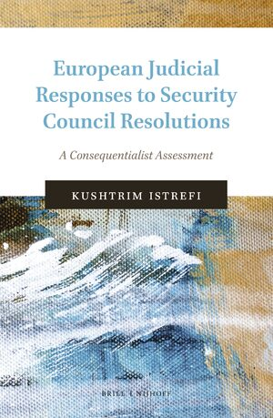 Cover European Judicial Responses to Security Council Resolutions