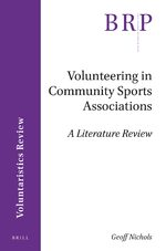 Cover Volunteering in Community Sports Associations