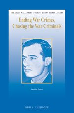Cover Ending War Crimes, Chasing the War Criminals