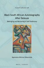 Cover Black South African Autobiography After Deleuze