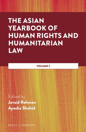 Cover The Asian Yearbook of Human Rights and Humanitarian Law