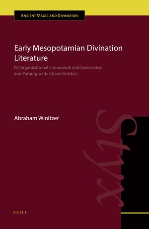 Cover Early Mesopotamian Divination Literature