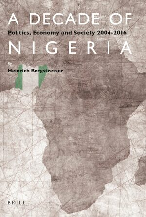 Cover A Decade of Nigeria