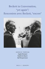 "Cover Beckett in Conversation, ""yet again"" / Rencontres avec Beckett, ""encore"""