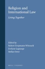 Cover Religion and International Law