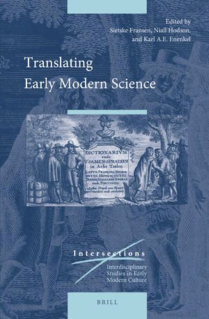 Cover Translating Early Modern Science