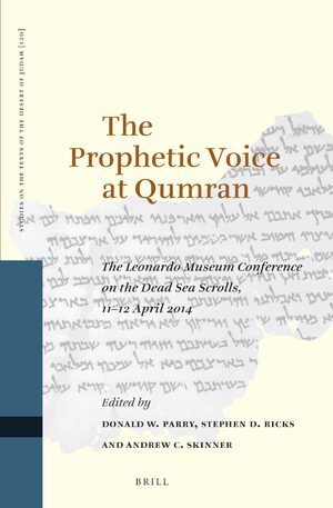 Cover The Prophetic Voice at Qumran