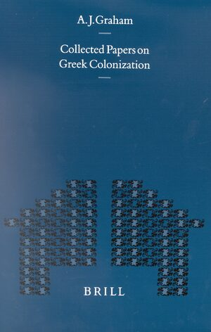 Cover Collected Papers on Greek Colonization