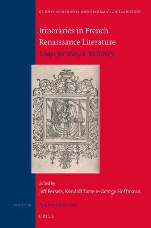 Cover Itineraries in French Renaissance Literature