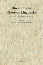 Cover Directions for Historical Linguistics