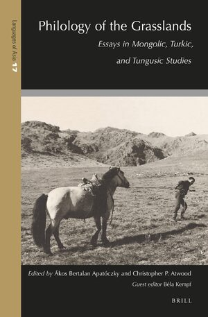 Cover Philology of the Grasslands