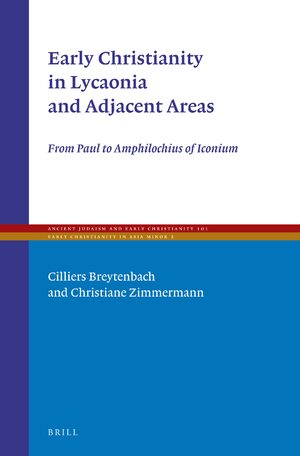 Cover Early Christianity in Lycaonia and Adjacent Areas