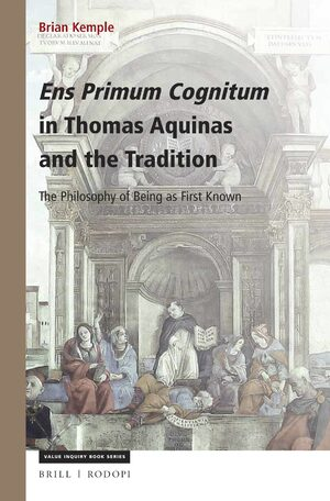 Cover Ens Primum Cognitum in Thomas Aquinas and the Tradition