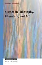 Cover Silence in Philosophy, Literature, and Art