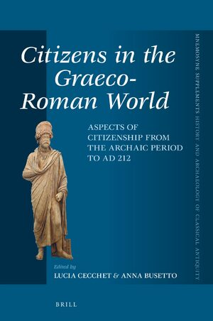 Cover Citizens in the Graeco-Roman World