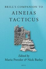 Cover Brill's Companion to Aineias Tacticus