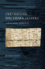 Cover Old Russian Birchbark Letters