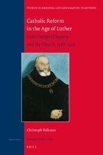 Cover Catholic Reform in the Age of Luther