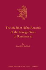 The Medinet Habu Records of the Foreign Wars of Ramesses III