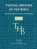 Cover Textual History of the Bible Vol. 2A