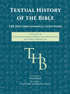 Cover Textual History of the Bible Vol. 2B