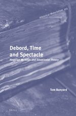 Cover Debord, Time and Spectacle